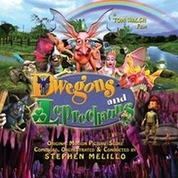 Dwegons and Leprechauns Soundtrack  (Stephen Melillo) - CD cover