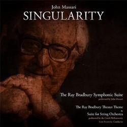 Singularity Soundtrack  (John Massari) - CD cover