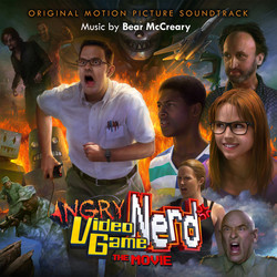 Angry Video Game Nerd: The Movie Soundtrack (Bear McCreary) - CD cover