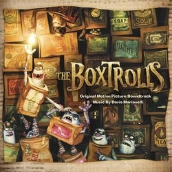 The Boxtrolls Soundtrack  (Dario Marianelli) - CD cover