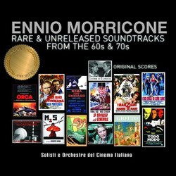 Ennio Morricone - Rare & Unreleased Soundtracks from the 60s & 70s Soundtrack (Ennio Morricone) - CD cover