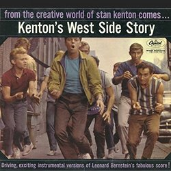 Kenton's West Side Story Soundtrack (Leonard Bernstein, Stan Kenton) - CD cover