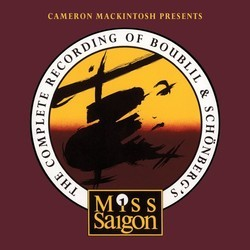 Miss Saigon Soundtrack (Alain Boublil, Claude-Michel Schonberg) - CD cover