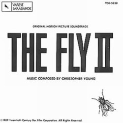 The Fly II Soundtrack (Christopher Young) - Carátula
