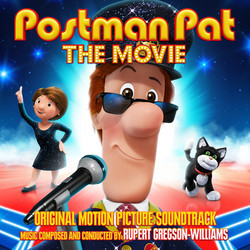 Postman Pat: The Movie Soundtrack (Rupert Gregson-Williams) - CD cover