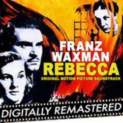 Rebecca Soundtrack (Franz Waxman) - CD cover