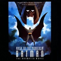 Batman: Mask of the Phantasm Soundtrack (Shirley Walker) - Carátula