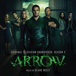 Arrow: Season 2 Trilha sonora (Blake Neely) - capa de CD