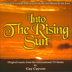 Into The Rising Sun Soundtrack (Guy Cuyvers) - CD cover