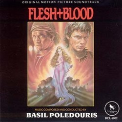 Flesh+Blood Soundtrack  (Basil Poledouris) - CD cover