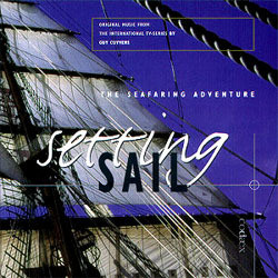 Setting Sail Trilha sonora (Guy Cuyvers) - capa de CD
