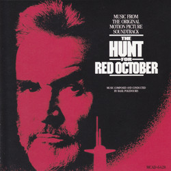 The Hunt for Red October Soundtrack (Basil Poledouris) - Carátula