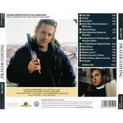 A Prayer for the Dying Soundtrack (Bill Conti) - CD Achterzijde