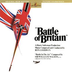 Battle of Britain Soundtrack (Ron Goodwin, William Walton) - CD cover