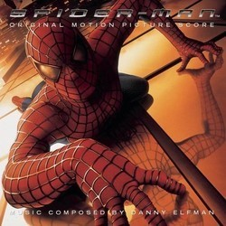Spider-Man Soundtrack (Danny Elfman) - CD cover