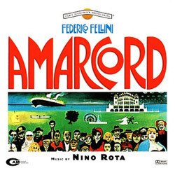 Amarcord Soundtrack (Nino Rota) - CD cover