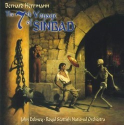 The 7th Voyage of Sinbad Soundtrack (Bernard Herrmann) - CD cover