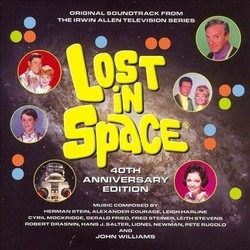 Lost In Space: 40th Anniversary Edition Soundtrack (Various Artists) - CD cover