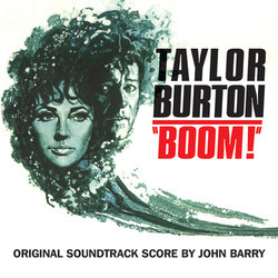 Boom! Soundtrack (John Barry) - CD cover