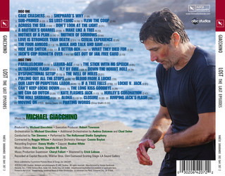 Lost: The Last Episodes Soundtrack (Michael Giacchino) - CD Back cover