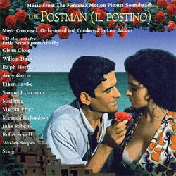 The Postman 声带 (Various Artists, Luis Bacalov) - CD封面