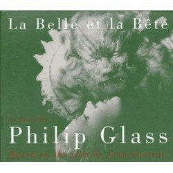 La Belle Et La Bête Soundtrack (Philip Glass) - CD cover
