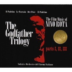 The Godfather Trilogy Soundtrack (Nino Rota) - CD cover