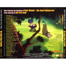 The Brave Little Toaster サウンドトラック (David Newman, Van Dyke Parks) - CD裏表紙