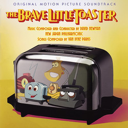 The Brave Little Toaster サウンドトラック (David Newman, Van Dyke Parks) - CDカバー