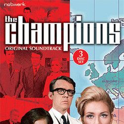 The Champions サウンドトラック (Edwin Astley, Robert Farnon, Tony Hatch) - CDカバー