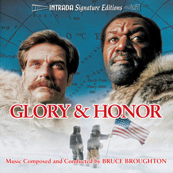 Glory & Honor Soundtrack (Bruce Broughton) - Carátula