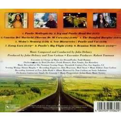 Paulie Soundtrack (John Debney) - CD Back cover