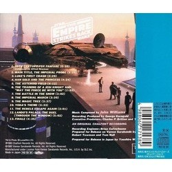 Star Wars: The Empire Strikes Back Soundtrack (John Williams) - CD Achterzijde