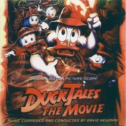 DuckTales The Movie - Treasure of the Lost Lamp Soundtrack (David Newman) - CD cover