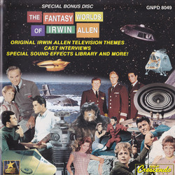 The Fantasy Worlds of Irwin Allen Soundtrack (Various Artists) - CD-Cover