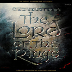 The Lord of the Rings Soundtrack (Leonard Rosenman) - CD-Cover