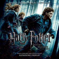 Harry Potter and the Deathly Hallows: Part 1 Soundtrack (Alexandre Desplat) - CD cover