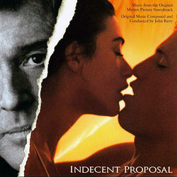 Indecent Proposal Soundtrack  (John Barry) - CD cover