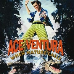 Ace Ventura: When Nature Calls Ścieżka dźwiękowa (Various Artists, Robert Folk) - Okładka CD