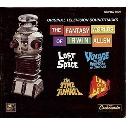 The Fantasy Worlds Of Irwin Allen Bande Originale (Alexander Courage, George Duning, Jerry Goldsmith, Joseph Mullendore, Paul Sawtell, John Williams) - cd-inlay