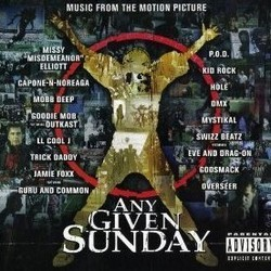 Any Given Sunday Soundtrack (Various Artists) - CD cover