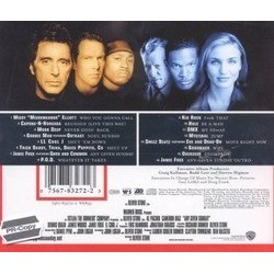 Any Given Sunday Soundtrack (Various Artists) - CD Back cover