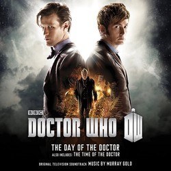 Doctor Who: The Day Of The Doctor / The Time Of The Doctor Bande Originale (Murray Gold) - Pochettes de CD