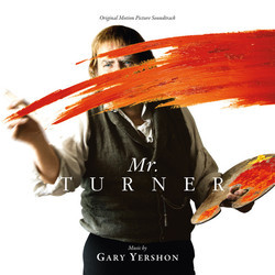 Mr.Turner / A Running Jump Soundtrack (Gary Yershon) - CD cover