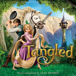 Tangled Soundtrack (Alan Menken) - CD-Cover