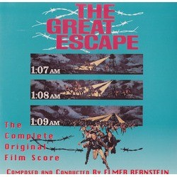 The Great Escape Soundtrack (Elmer Bernstein) - CD cover