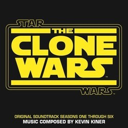Star Wars: The Clone Wars Soundtrack (Kevin Kiner) - CD cover
