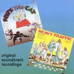 Fritz the Cat / Heavy Traffic 声带 (Various Artists, Ed Bogas, Ray Shanklin) - CD封面