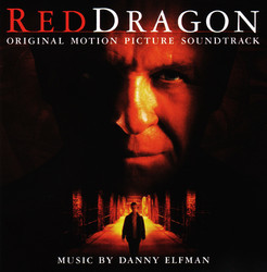 Red Dragon Soundtrack (Danny Elfman) - CD cover