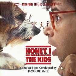Honey, I Shrunk The Kids Bande Originale (James Horner) - Pochettes de CD